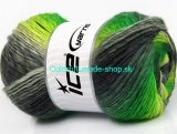 Lana Bella Neon Green Grey Shades