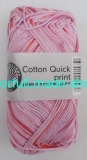 Cotton Quick print - Rosa-fuchsia multicolor - 861-193