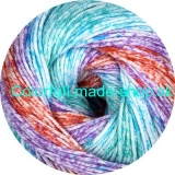 Sandy Design Color - Turquoise-pink multicolor 100g/240m