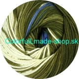 Sandy Design Color - Green-petrol multicolor 100g/240m