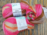 Sandy Design Color - Brown-pink-orange multicolor 100g/240m