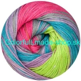 Sandy Design Color - Lavender-pink-green-turquoise multic. 100g/240m