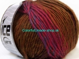 Vivid Wool Pink Green Brown Blue 34604