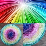 Magic Beauty Colorful - Rainbow - 420g/1700m