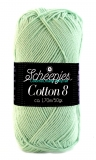 Cotton 8  - Pastel Green 1544-664