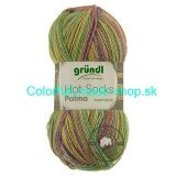 Hot Socks Palma - Mango multicolor 3490-01
