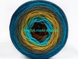 Cakes DK Turquoise Green Brown Shades Blue Shades