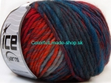 Vivid Wool Orange Green Shades Gold Blue Shades 34611
