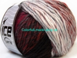 Vivid Wool Grey Burgundy Brown Black 34603
