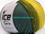 Air Wool Color Yellow Grey Green 54064