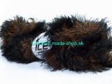 Smooth Fur Red Black 30840