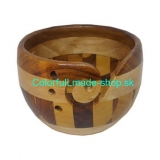 Miska na klbko vlny - Yarn Bowl MULTI WOOD