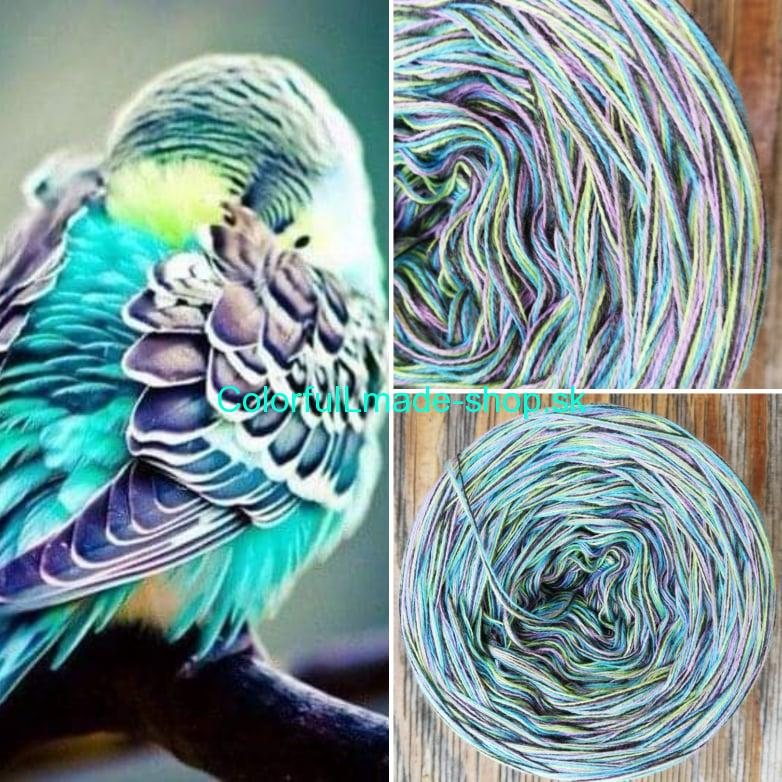 Colorful - Bird - 4-nitka 150g/500m