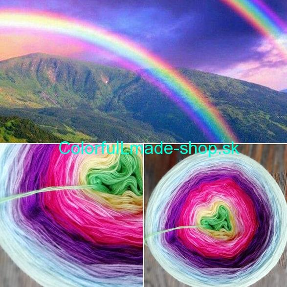 Magic Beauty - Rainbow II. 350g/1700m