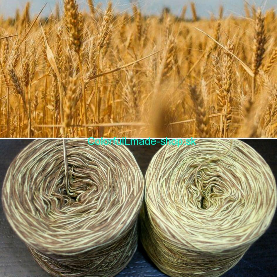 Colorful - Wheat - 4-nitka 50g/200m