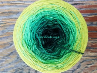 Magic OMBRÉ - Lime Juice 4-nitka 250g/1000m