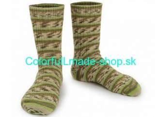 Design Sock Green Shades