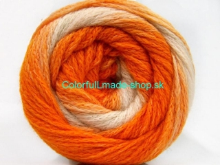 Cakes Chain White Orange Shades 58124