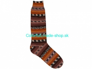 Super Sock White Gold Brown Shades Black