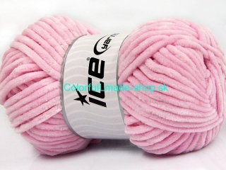 Chenille Aran Light Pink