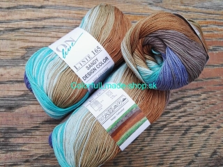 Sandy Design Color - Lavender-beige-light turquoise multicolor 100g/240m