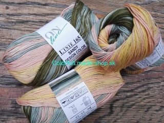 Sandy Design Color - Ocker-salmon-khaki multicolor 100g/240m
