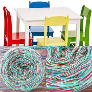 Colorful - Chairs - 4-nitka 150g/500m