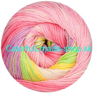 Sandy Design Color - Pink-yellow-light green multic. 100g/240m