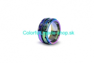 KnitPro Rainbow Row Counter Ring - size 7 / 17,3 mm