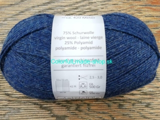 Supersocke 100 - Linie 3 - Jeans Blue