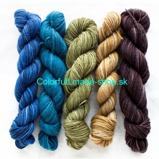 Silk Blend Fino Minis - Georgiana - set v krabičke 5x20g