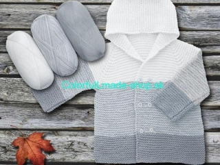 Baby Ombre White Light Grey 63240