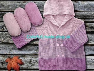 Baby Ombre Light Pink Lavender 63236