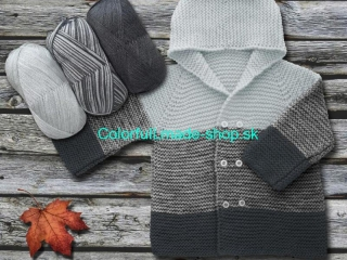 Baby Ombre Light Grey Grey 63221