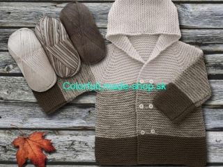 Baby Ombre Brown Beige 63220
