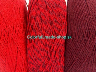 Ombre Red Maroon 64025
