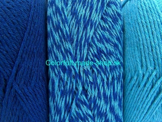 Ombre Turquoise Blue 64022