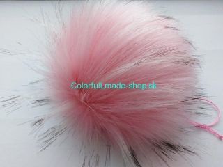 Brmbolec 19 cm Pink with Black 4436-49
