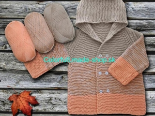 Baby Ombre Light Orange Camel 63230