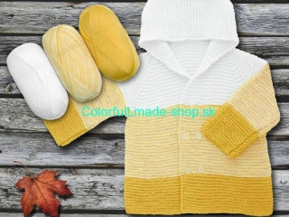 Baby Ombre Yellow White 63243
