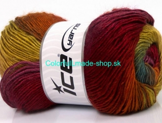 Rainbow Turquoise Purple Green Gold Copper Burgundy 63037