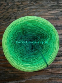 Magic OMBRÉ - Meadow 3-nitka 200g/1000m