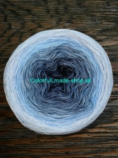Magic OMBRÉ - Water 4-nitka 250g/1000m