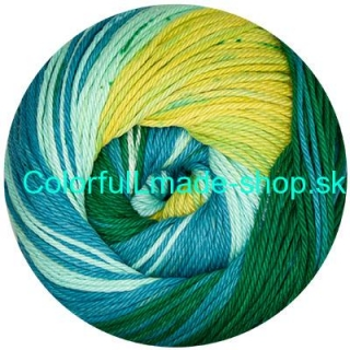 Sandy Design Color - Blue-green-yellow multicolor 100g/240m