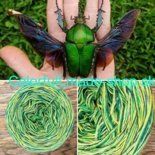 Colorful - Beatle - 4-nitka 150g/500m