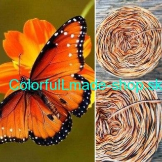 Colorful - Butterfly - 4-nitka 50g/200m
