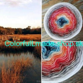 Magic Beauty Colorful - Silent River II. - 420g/1700m