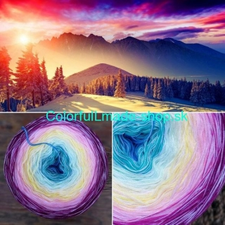 Magic Beauty Colorful - Sunset II. - 420g/1700m