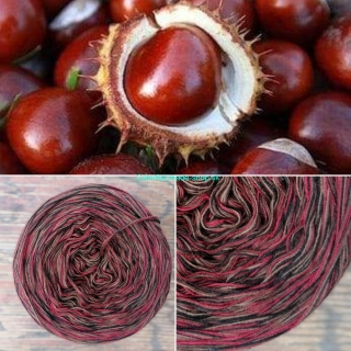 Colorful - Chestnut - 4-nitka 150g/500m