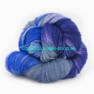 Cowgirlblues - Merino DK - Cobalt/Airforce/Blueberry/Ice Berry 100g/200m